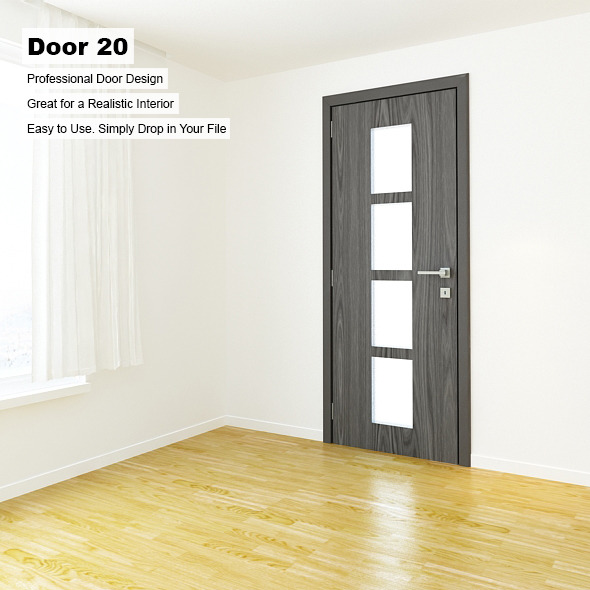 Door 20 - 3DOcean Item for Sale