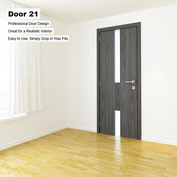 Door 21 - 3DOcean Item for Sale