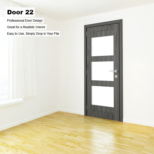Door 22 - 3DOcean Item for Sale