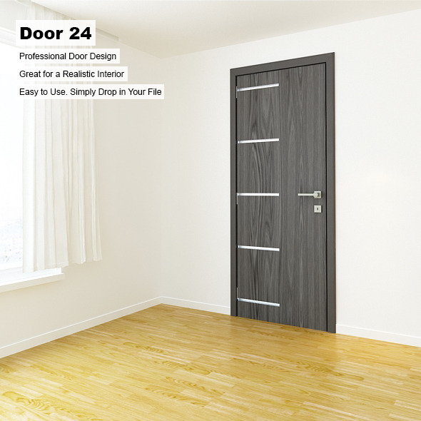 Door 24 - 3DOcean Item for Sale