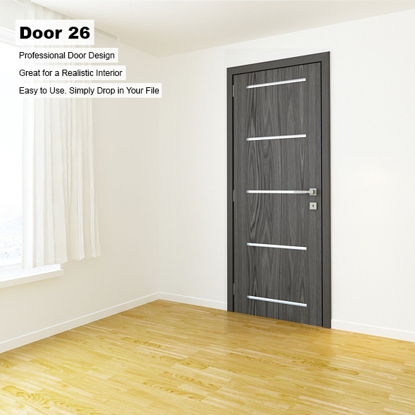Door 26 - 3DOcean Item for Sale