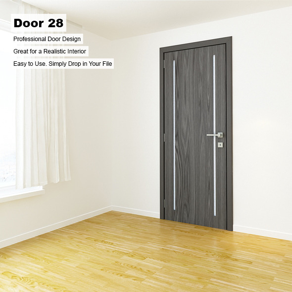 Door 28 - 3DOcean Item for Sale