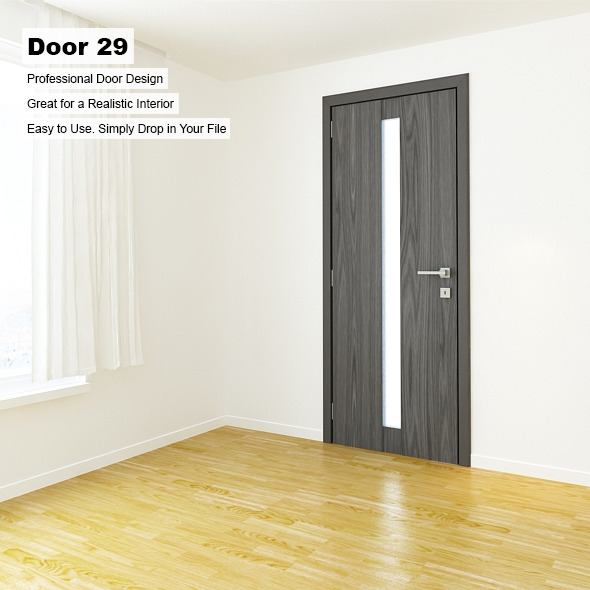 Door 29 - 3DOcean Item for Sale