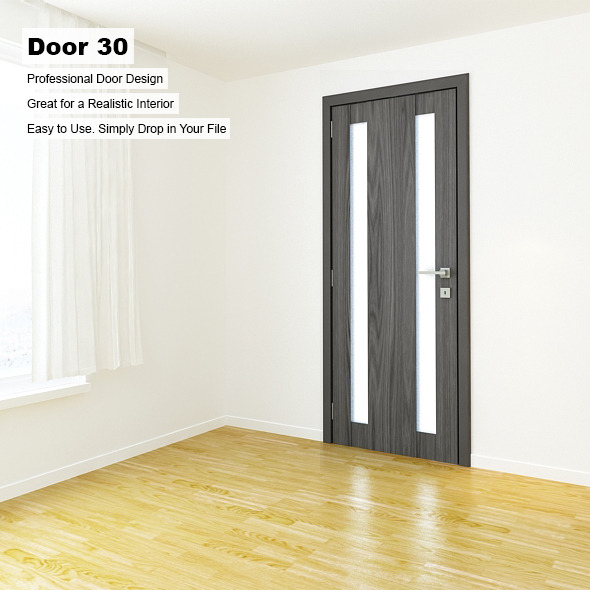 Door 30 - 3DOcean Item for Sale