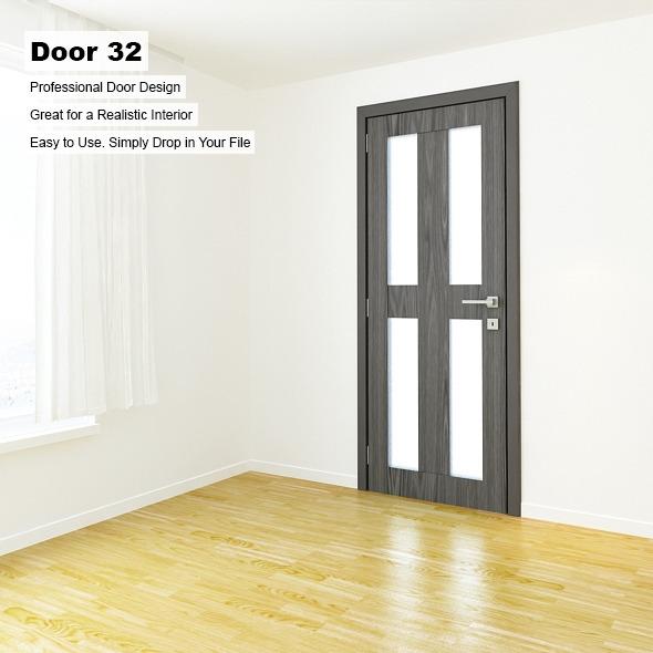 Door 32 - 3DOcean Item for Sale