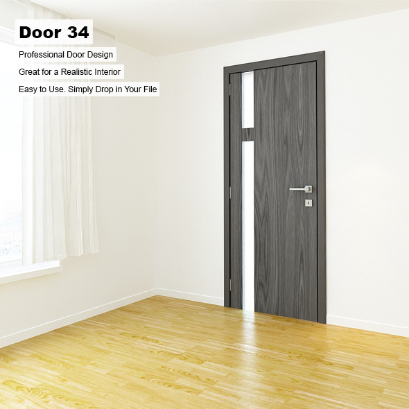 Door 34 - 3DOcean Item for Sale