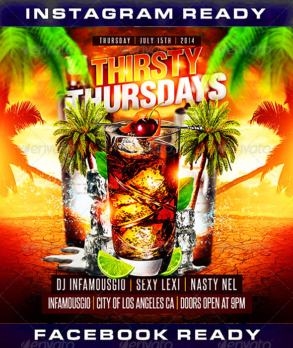 Thirsty Thursdays 1 - Clubs & Parties Events