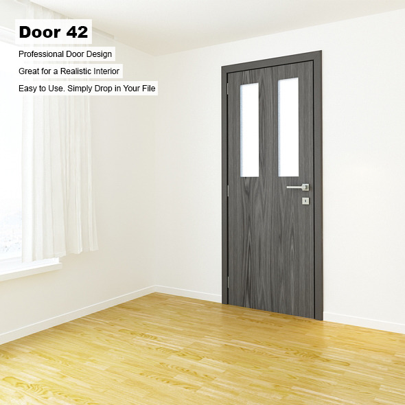 Door 42 - 3DOcean Item for Sale