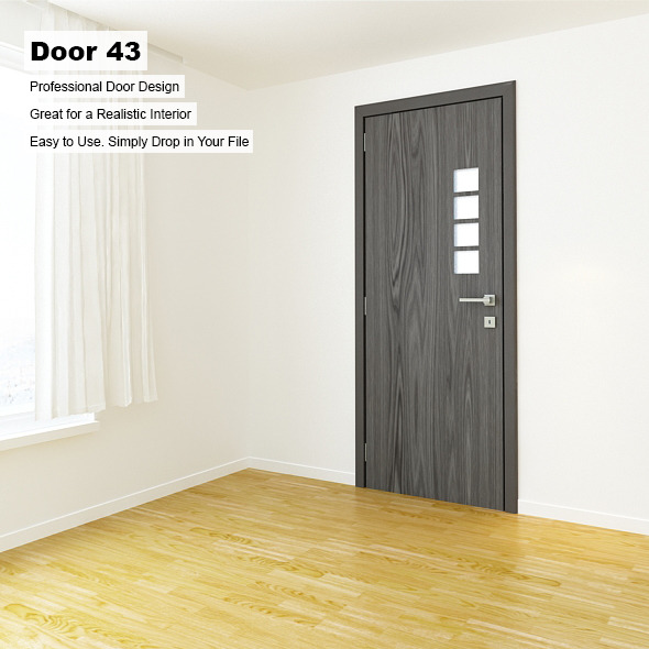 Door 43 - 3DOcean Item for Sale