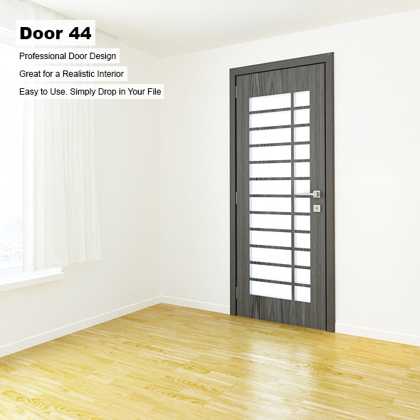 Door 44 - 3DOcean Item for Sale