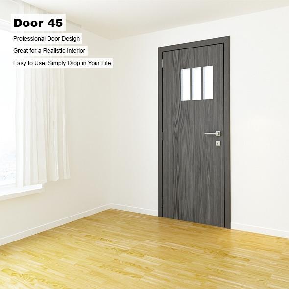 Door 45 - 3DOcean Item for Sale