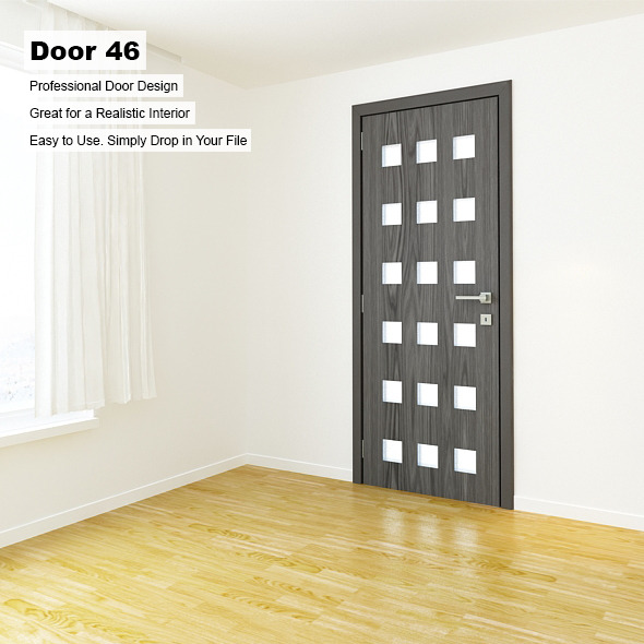 Door 46 - 3DOcean Item for Sale