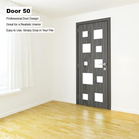 Door 50 - 3DOcean Item for Sale