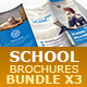 School Brochures Bundle 3x - GraphicRiver Item for Sale