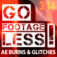 Go Footageless! - Light Burns & Glitch AE comps - VideoHive Item for Sale