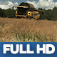 Modern Harvester On The Field 11 - VideoHive Item for Sale