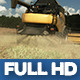 Modern Harvester On The Field 12 - VideoHive Item for Sale