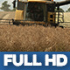 Modern Harvester On The Field 14 - VideoHive Item for Sale