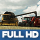Modern Harvester On The Field 15 - VideoHive Item for Sale