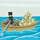 Boat Full of Money - GraphicRiver Item for Sale