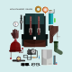 Mountaineer Gear in Flat Style  - GraphicRiver Item for Sale