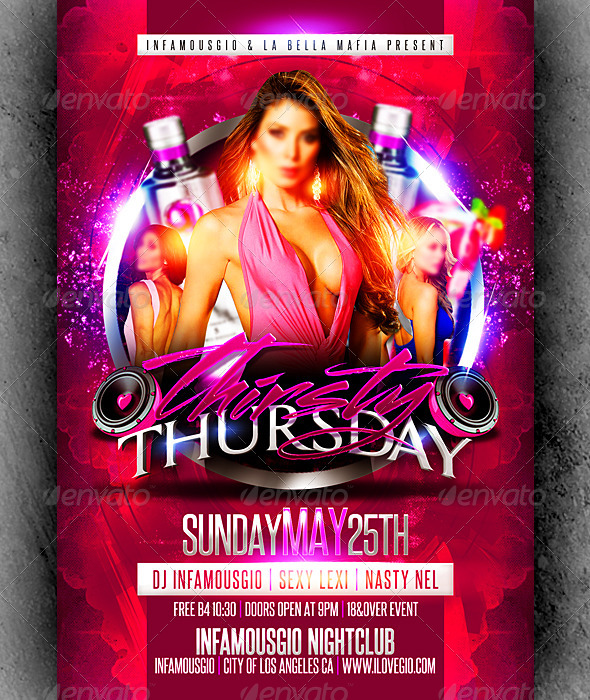 Thirsty Thursdays 2 - Clubs & Parties Events