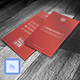 UI Style Corporate Business Card VO-29 - GraphicRiver Item for Sale