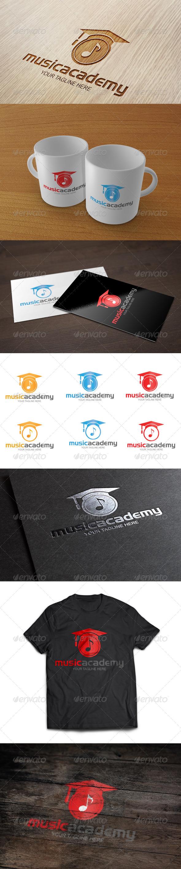Music Academy - Logo Template - Symbols Logo Templates