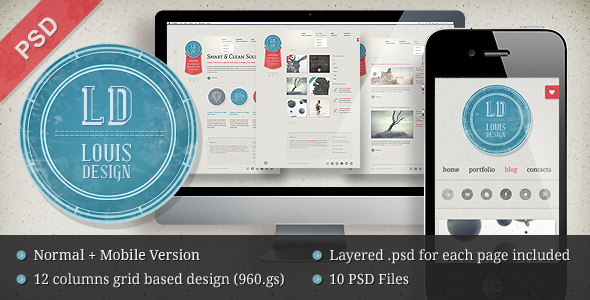 Free Download LD Studio PSD Template Nulled Latest Version
