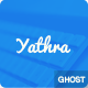 Yathra - Responsive Multipurpose Ghost Theme