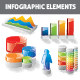 Color & Bright Infographic Elements - GraphicRiver Item for Sale