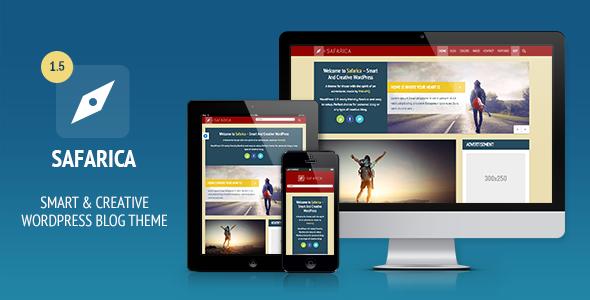 Safarica – Smart And Creative WordPress Blog Theme