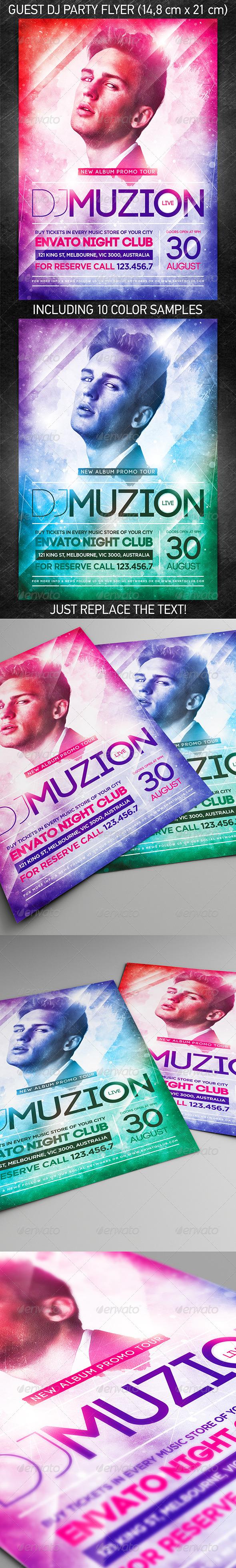 Guest DJ Party Flyer Vol.7 - Clubs & Parties Events