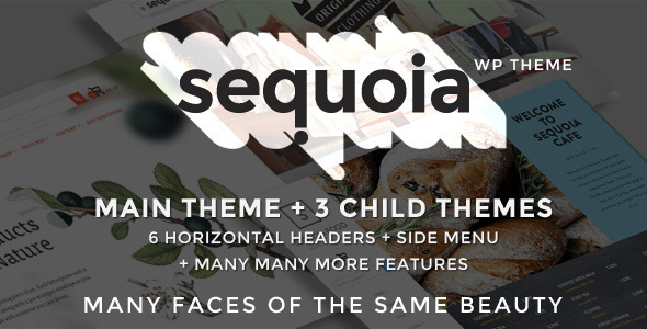 Sequoia – E-Commerce and Multipurpose WP Theme