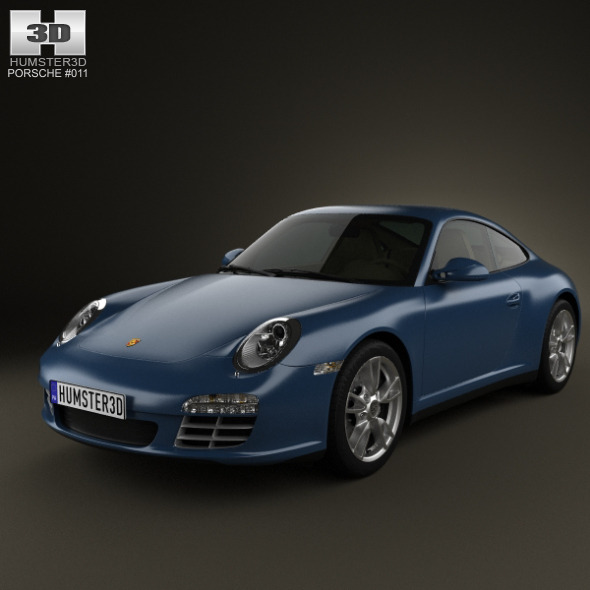 Porsche 911 Carrera 4 Coupe 2011