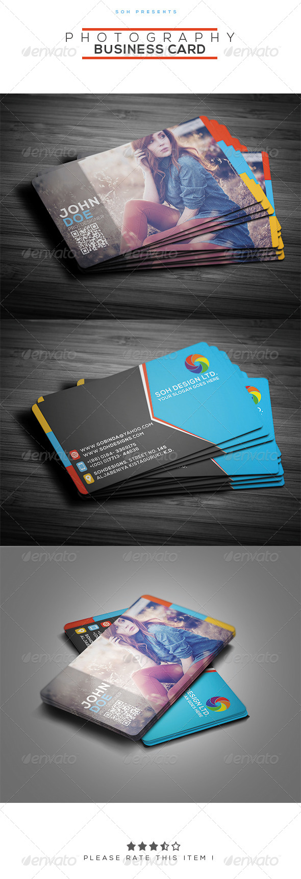 Industry specific business card templates from graphicriver page 9 reheart Images