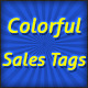 Colorful Sales Tags