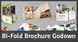 Bi-Fold Brochure Godown