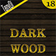 18 Dark Wood Backgrounds - GraphicRiver Item for Sale
