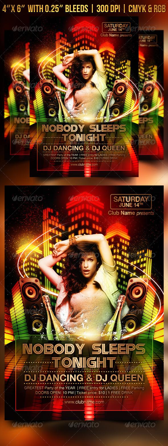 Nobody Sleeps Tonight - Clubs & Parties Events