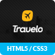 Travelo - Travel, Tour Booking HTML5 Template Nulled