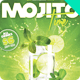 Mojito Time Flyer - GraphicRiver Item for Sale