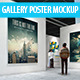 Gallery Poster Mockups - GraphicRiver Item for Sale