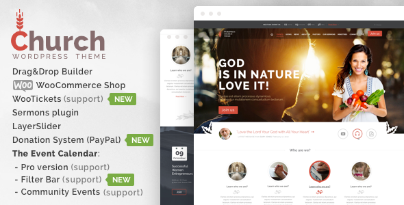 Top 37+ Best Church WordPress Themes of [sigma_current_year] 14