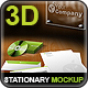 New 3D Stationary Mockup - GraphicRiver Item for Sale