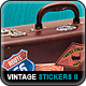 Vintage Travel Stickers Part 2 - GraphicRiver Item for Sale