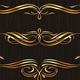 Golden Calligraphic Vector Design Elements - GraphicRiver Item for Sale