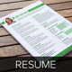 Resume & Cover Letter Template - GraphicRiver Item for Sale