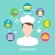 Cooking Concept Poster Print - GraphicRiver Item for Sale