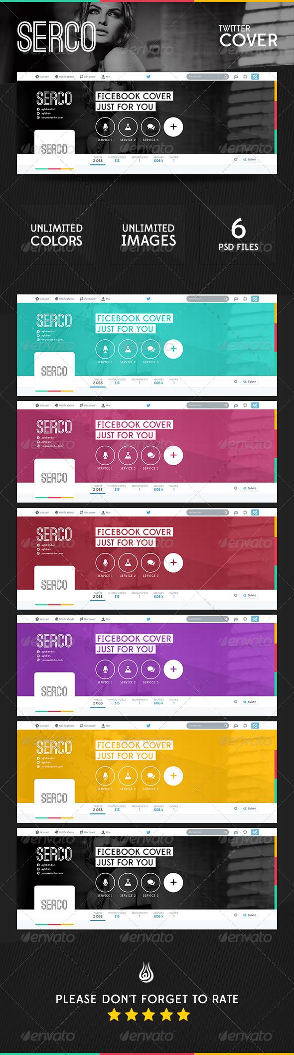 Serco Twitter Cover - Twitter Social Media
